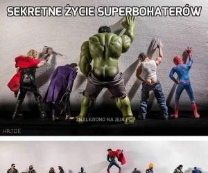 Sekretne życie Superbohaterów