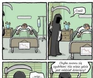 Mroczny szpitalny humor