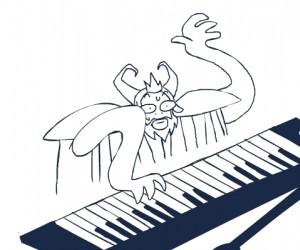 Kiedy próbujesz się popisać, ale masz przed sobą tylko pianino