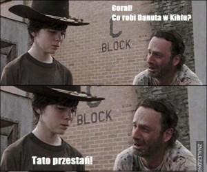 Suchar z The Walking Dead