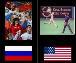 Rosja vs USA - Sport