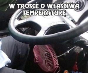 W trosce o właściwą temperaturę