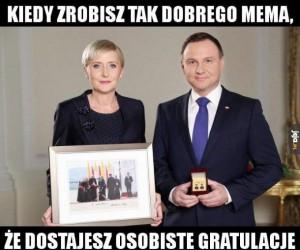 Order wspaniałego memo-jejowicza