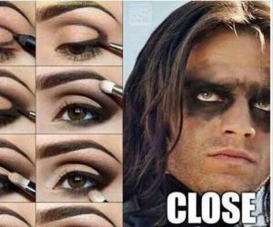 Makijaż na wyjście