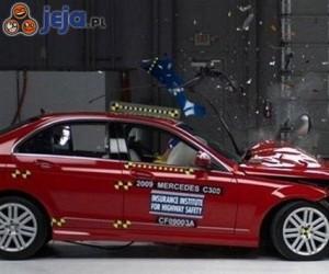 Crash test Mercedesa