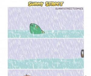 Dobrze, że mam parasol