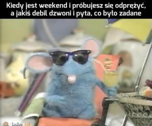 Człowieku, weekend jest
