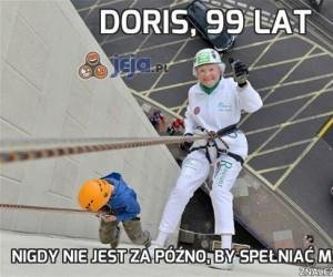 Doris, 99 lat