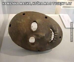 Kamienna maska, która ma 9 tysięcy lat