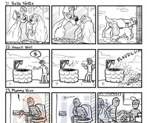 Garstka krótkich komiksów