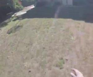 Zabawa frisbee bywa niebezpieczna