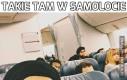 Takie tam w samolocie