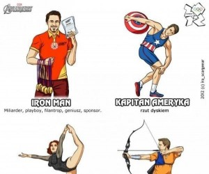 Avengersi na olimpiadzie