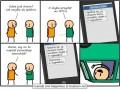 Pisanie SMS-ów w czasie jazdy