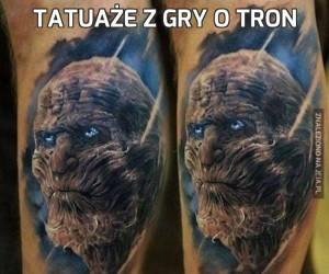 Tatuaże z Gry o tron