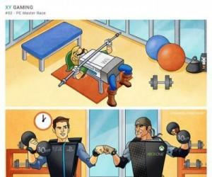 Konsole na siłowni