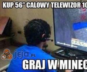 Kup 56 calowy telewizor...