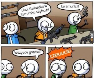 Uzbrojony po zęby!