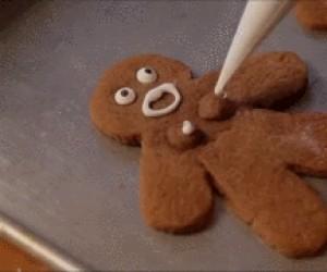 Wspólne lukrowanie ciasteczek...
