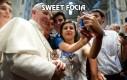Sweet focia z papieżem