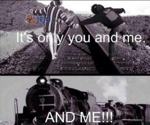 Tylko ja, ty... i pociąg