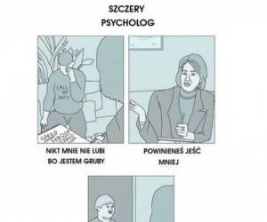 Szczery psycholog