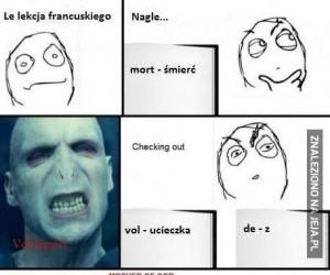 Voldemort po francusku