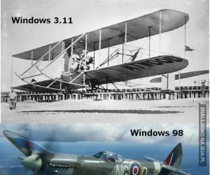 Samoloty Windowsa