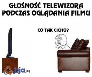 Problem z głośnością telewizora