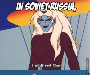 Uważaj na rosyjskie kreskówki