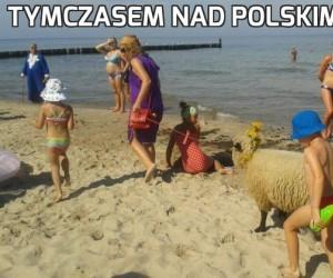 Tymczasem nad polskim morzem