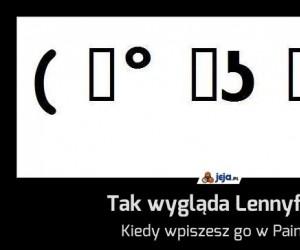 Tak wygląda Lennyface