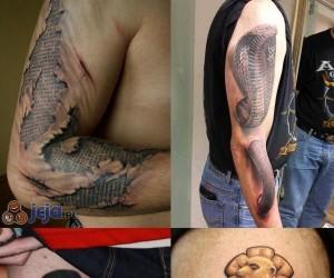 Oryginalne i ciekawe tatuaże cz.1