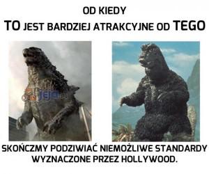 Każda Godzilla jest piękna