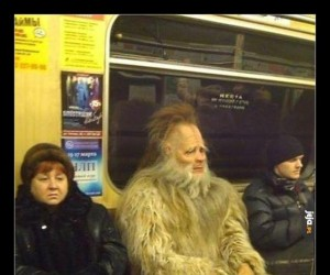 Tymczasem w rosyjskim metrze...
