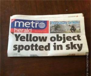 A może to Słońce?
