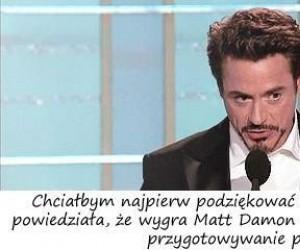 Przemowa Roberta Downeya Jr.
