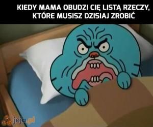 Później, mamo!