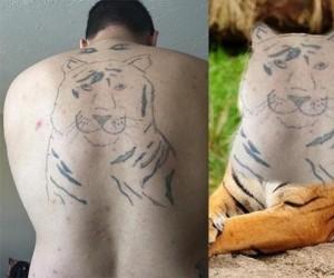 Tatuaż 200% realizmu