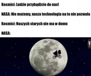 NASA już leci
