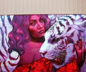 Wspaniały street art