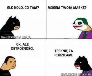 Ej, Joker, no co ty...?