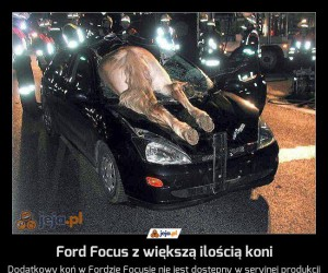 Ford Focus z większą ilością koni