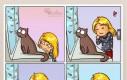 Jaki słodki kotek, przytulę go!