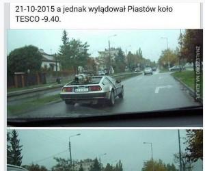 Marty McFly wylądował w Polsce!