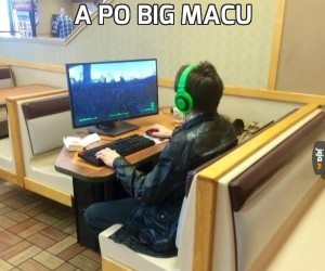 A po Big Macu