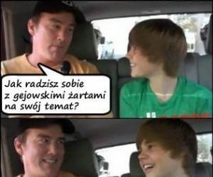 Bieber i gejowskie żarty