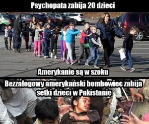 Hipokryzja w amerykańskim stylu