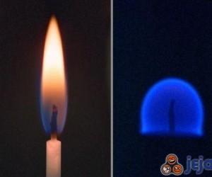 Ogień w zerowej grawitacji