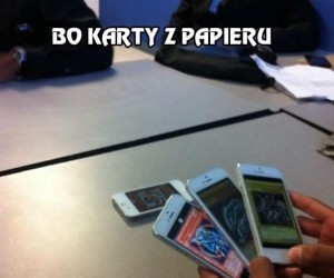 Bo karty z papieru są dla biednych